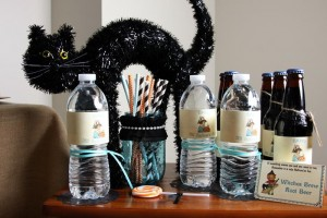 Vintage Halloween Party with Lots of REALLY CUTE IDEAS via Kara's Party Ideas | KarasPartyIdeas.com #HallowsEve #Party #Ideas #Supplies (33)