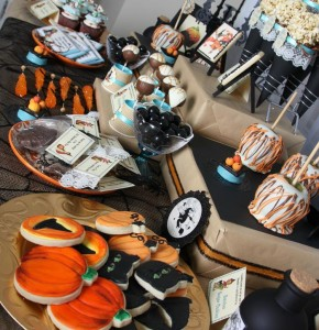 Vintage Halloween Party with Lots of REALLY CUTE IDEAS via Kara's Party Ideas | KarasPartyIdeas.com #HallowsEve #Party #Ideas #Supplies (28)