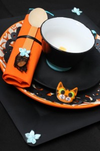 Vintage Halloween Party with Lots of REALLY CUTE IDEAS via Kara's Party Ideas | KarasPartyIdeas.com #HallowsEve #Party #Ideas #Supplies (12)
