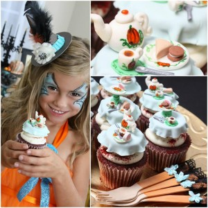 Vintage Halloween Party with Lots of REALLY CUTE IDEAS via Kara's Party Ideas | KarasPartyIdeas.com #HallowsEve #Party #Ideas #Supplies (1)