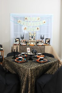 Vintage Halloween Party with Lots of REALLY CUTE IDEAS via Kara's Party Ideas | KarasPartyIdeas.com #HallowsEve #Party #Ideas #Supplies (40)