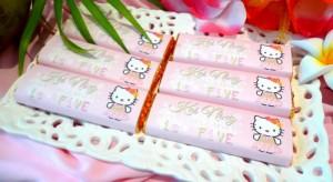 Hawaiian Hello Kitty Party with So Many Cute Ideas via Kara's Party Ideas   KarasPartyIdeas.com #HelloKittyParty #Party #Ideas #Supplies (3)