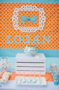 Modern Little Man 1st Birthday Party with Lots of REALLY CUTE Ideas via Kara's Party Ideas | KarasPartyIdeas.com #LittleManParty #PartyIdeas #Supplies (10)