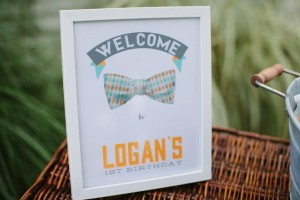 Modern Little Man 1st Birthday Party with Lots of REALLY CUTE Ideas via Kara's Party Ideas | KarasPartyIdeas.com #LittleManParty #PartyIdeas #Supplies (3)