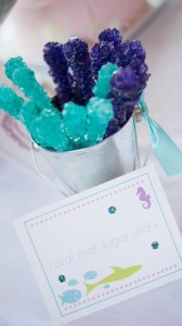Whimsical Mermaid Party Full of Really Cute Ideas via Kara's Party Ideas | KarasPartyIdeas.com #UnderTheSea #Ocean #Party #Ideas #Supplies (23)