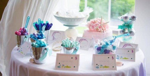 Whimsical Mermaid Party Full of Really Cute Ideas via Kara's Party Ideas | KarasPartyIdeas.com #UnderTheSea #Ocean #Party #Ideas #Supplies (30)