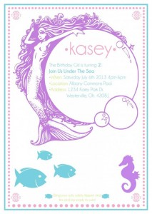 Whimsical Mermaid Party Full of Really Cute Ideas via Kara's Party Ideas | KarasPartyIdeas.com #UnderTheSea #Ocean #Party #Ideas #Supplies (2)