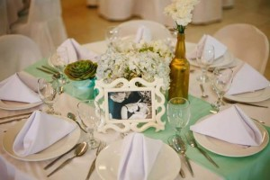 Mint, Aqua and Gold Christening with Lots of Really Cute Ideas via Kara's Party Ideas | KarasPartyIdeas.com #BoyChristeningParty #PartyIdeas #Supplies (2)