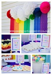 My Little Pony Rainbow Party Full of Cute Ideas via Kara's Party Ideas | KarasPartyIdeas.com #4thBirthday #Party #Ideas #Supplies (31)