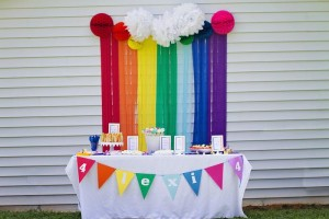 My Little Pony Rainbow Party Full of Cute Ideas via Kara's Party Ideas | KarasPartyIdeas.com #4thBirthday #Party #Ideas #Supplies (30)