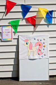 My Little Pony Rainbow Party Full of Cute Ideas via Kara's Party Ideas | KarasPartyIdeas.com #4thBirthday #Party #Ideas #Supplies (9)