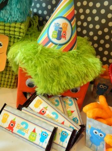 Monster Bash Themed 2nd Birthday Party with Lots of Awesome Ideas via Kara's Party Ideas | KarasPartyIdeas.com #Monster #Party #Ideas #Supplies (6)