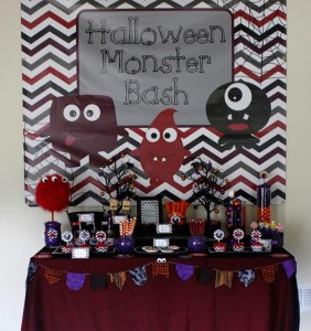 Halloween Monster Bash with Such Cute Ideas via Kara's Party Ideas | KarasPartyIdeas.com #MonsterParty #PartyIdeas #Supplies (1)