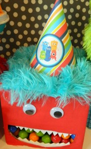 Monster Bash Themed 2nd Birthday Party with Lots of Awesome Ideas via Kara's Party Ideas | KarasPartyIdeas.com #Monster #Party #Ideas #Supplies (12)