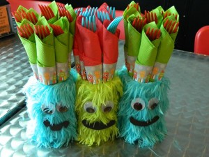 Monster Bash Themed 2nd Birthday Party with Lots of Awesome Ideas via Kara's Party Ideas | KarasPartyIdeas.com #Monster #Party #Ideas #Supplies (9)