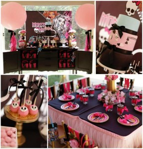 Chic Monster High Party with Such AWESOME Ideas via Kara's Party Ideas | KarasPartyIdeas.com #MonsterHighDollParty #Party #Ideas #Supplies (1)