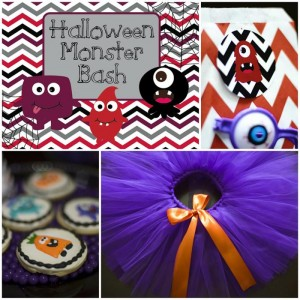 Halloween Monster Bash with Such Cute Ideas via Kara's Party Ideas | KarasPartyIdeas.com #MonsterParty #PartyIdeas #Supplies (2)