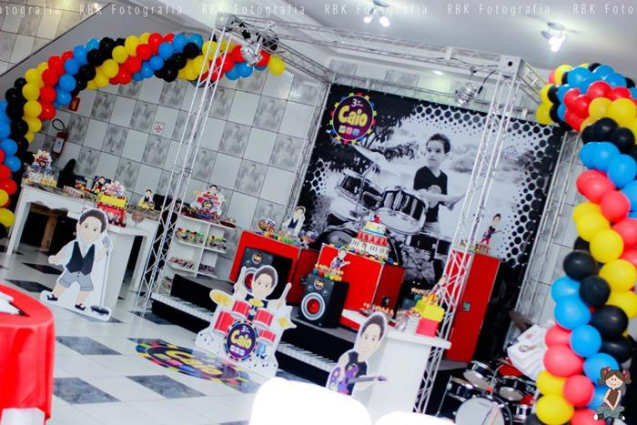 Music Themed Party Decorations Ideas Part - 35: Karau0027s Party Ideas Music Themed Party With So Many Fun .