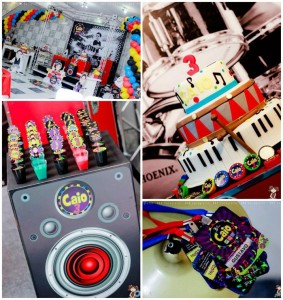 Music Themed Party Full of Awesome Ideas via Kara's Party Ideas | KarasPartyIdeas.com #Musical #RockStar #Party #Ideas #Supplies (1)