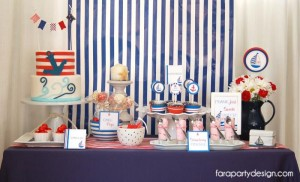 Nautical Party Full of Really Great Ideas via Kara's Party Ideas | KarasPartyIdeas.com #Boat #Party #Ideas #Supplies (6)