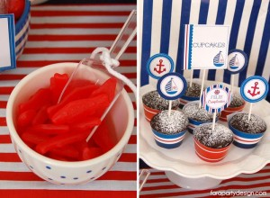 Nautical Party Full of Really Great Ideas via Kara's Party Ideas | KarasPartyIdeas.com #Boat #Party #Ideas #Supplies (5)