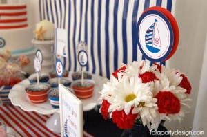 Nautical Party Full of Really Great Ideas via Kara's Party Ideas | KarasPartyIdeas.com #Boat #Party #Ideas #Supplies (4)