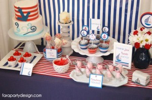 Nautical Party Full of Really Great Ideas via Kara's Party Ideas | KarasPartyIdeas.com #Boat #Party #Ideas #Supplies (2)