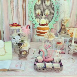 Pastel Paris Party with SUCH CUTE IDEAS via Kara's Party Ideas | KarasPartyIdeas.com #ParisParty #FrenchParty #PartyIdeas #Supplies (9)