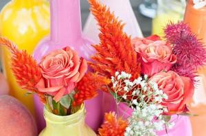 Peach Themed Party with Such Darling Ideas via Kara's Party Ideas | KarasPartyIdeas.com #Peaches #Party #Ideas #Supplies (25)