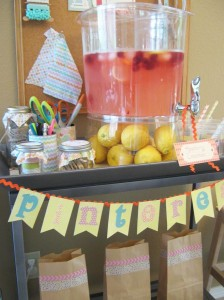 Pinterest Party with Lots of Really Cute Ideas via Kara's Party Ideas | KarasPartyIdeas.com #Pinterest #Pinning #Party #Ideas #Supplies (12)