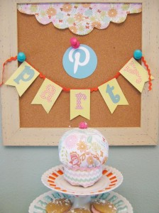 Pinterest Party with Lots of Really Cute Ideas via Kara's Party Ideas   KarasPartyIdeas.com #Pinterest #Pinning #Party #Ideas #Supplies (5)