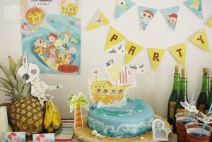 Pirate Party with Liots of Awesome Ideas via Kara's Party Ideas | KarasPartyIdeas.com #PirateParty #Party #Ideas #Supplies (12)