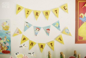 Pirate Party with Liots of Awesome Ideas via Kara's Party Ideas | KarasPartyIdeas.com #PirateParty #Party #Ideas #Supplies (10)
