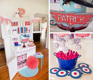 "Disney ""Planes"" Inspired 1st Birthday Party with So Many Darling Ideas via Kara's Party Ideas 