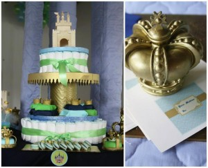 Little Prince Baby Shower with Full of Darling Ideas via Kara's Party Ideas | Kara'sPartyIdeas.com #Prince #Party #Ideas #Supplies (1)