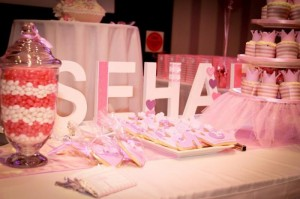 Princess Themed 1st Birthday Party Lots of Cute Ideas via Kara's Party Ideas | KarasPartyIdeas.com #PrincessParty #DisneyPrincessParty #PartyIdeas #Supplies (3)