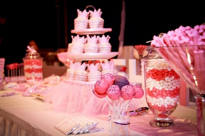 Princess Themed 1st Birthday Party Lots Of Cute Ideas Via Karas