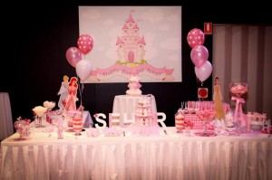 Princess Themed 1st Birthday Party Lots of Cute Ideas via Kara's Party Ideas | KarasPartyIdeas.com #PrincessParty #DisneyPrincessParty #PartyIdeas #Supplies (7)