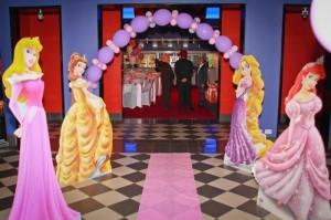 Princess Themed 1st Birthday Party Lots of Cute Ideas via Kara's Party Ideas | KarasPartyIdeas.com #PrincessParty #DisneyPrincessParty #PartyIdeas #Supplies (4)