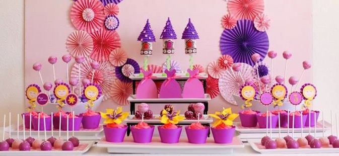 Karas Party Ideas Rapunzel Tangled Planning Supplies Idea Cake Decorations