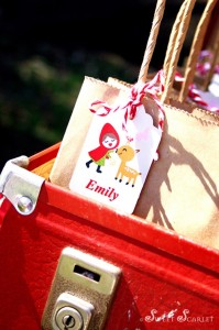 Little Red Riding Hood Woodland Party with So Many Really Cute Ideas via Kara's Party Ideas | KarasPartyIdeas.com #BigBadWolf #Party #Ideas #Supplies (10)