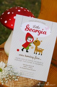 Little Red Riding Hood Woodland Party with So Many Really Cute Ideas via Kara's Party Ideas | KarasPartyIdeas.com #BigBadWolf #Party #Ideas #Supplies (2)