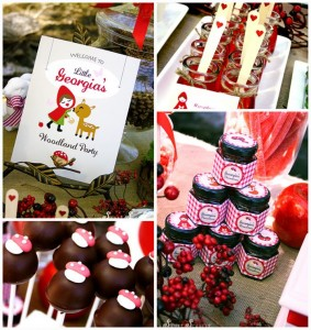 Little Red Riding Hood Woodland Party with So Many Really Cute Ideas via Kara's Party Ideas | KarasPartyIdeas.com #BigBadWolf #Party #Ideas #Supplies (1)