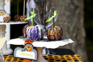 Retro Halloween Party with Lots of Really Cute Ideas via Kara's Party Ideas | KarasPartyIdeas.com #HalloweenParty #BlackCatParty #PartyIdeas #Supplies (7)