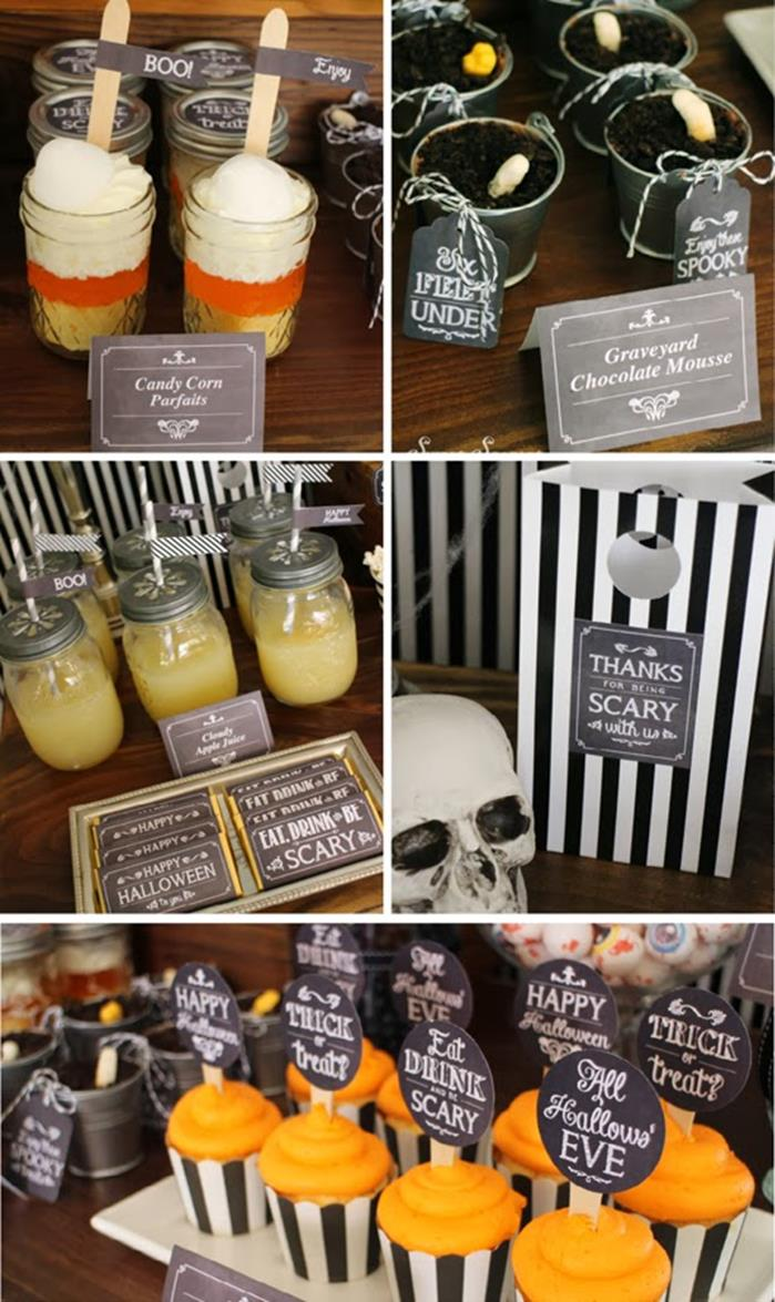 Kara 39 s party ideas eat drink be scary halloween party for Halloween party favor ideas