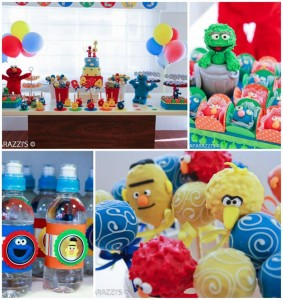 Sesame Street Themed 3rd Birthday Party with Lots of Cute Ideas via Kara's Party Ideas | KarasPartyIdeas.com #SesameStreetParty #Party #Ideas #Supplies (1)