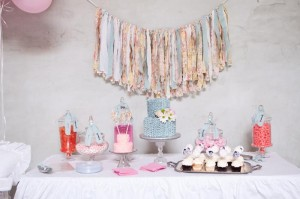 Shabby Chic 1st Birthday Party Full of Darling Ideas via Kara's Party Ideas | KarasPartyIdeas.com #ShabbyChicParty #Party #Ideas #Supplies (28)