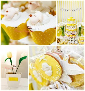 Sheep Themed Baptism with Lots of Precious Ideas via Kara's Party Ideas | KarasPartyIdeas.com #SheepParty #PartyIdeas #Supplies (1)