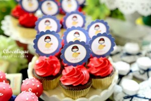Snow White Themed 1st Birthday Party with Lots of Cute Ideas via Kara's Party Ideas KarasPartyIdeas.com #SnowWhiteParty #Party #Ideas #Supplies (8)