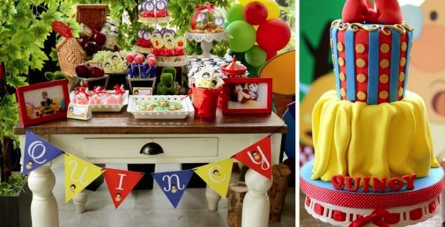 Snow White 1st Birthday Party October 15